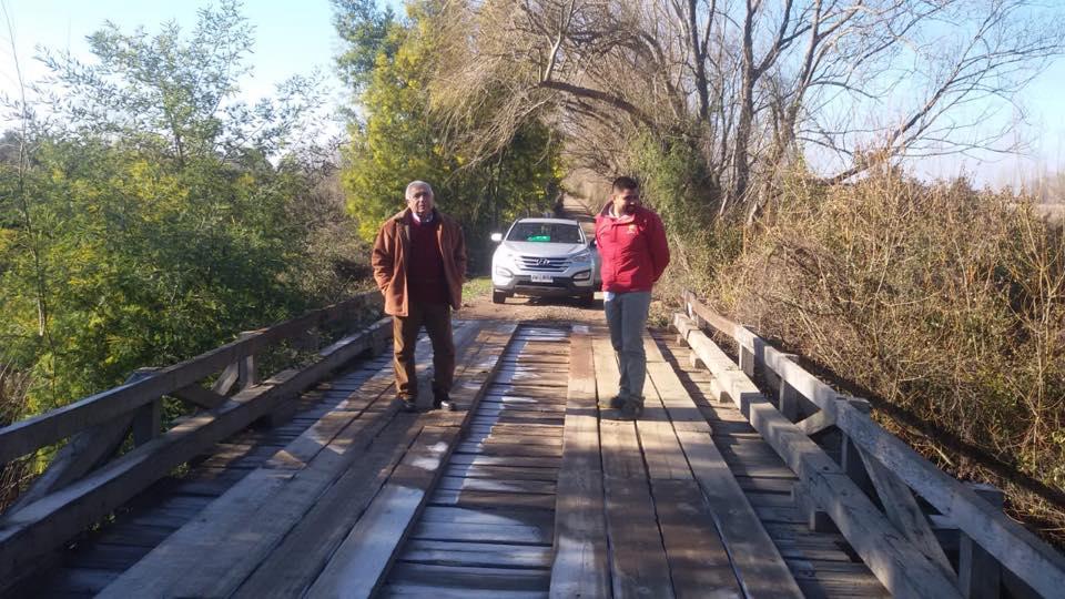 Plan municipal de reparación de caminos y puentes muestra resultados