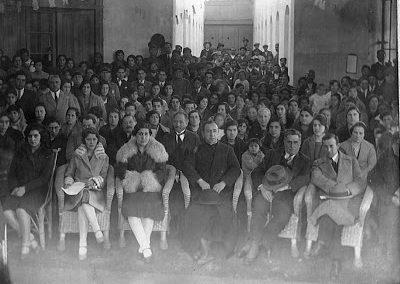 INTERIOR DE LA IGLESIA 1932