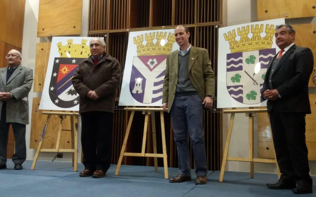 Alcalde fue parte de la selección de escudos de la nueva Región