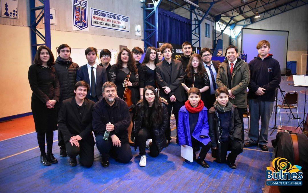 Aniversario Nº66 Liceo Santa Cruz de Larqui