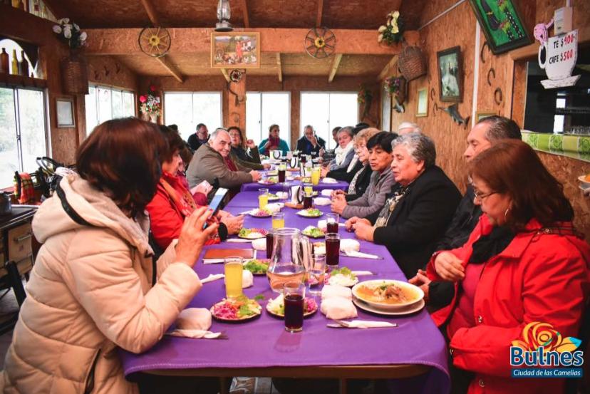 Alcalde reafirma su compromiso con los Adultos Mayores de Bulnes