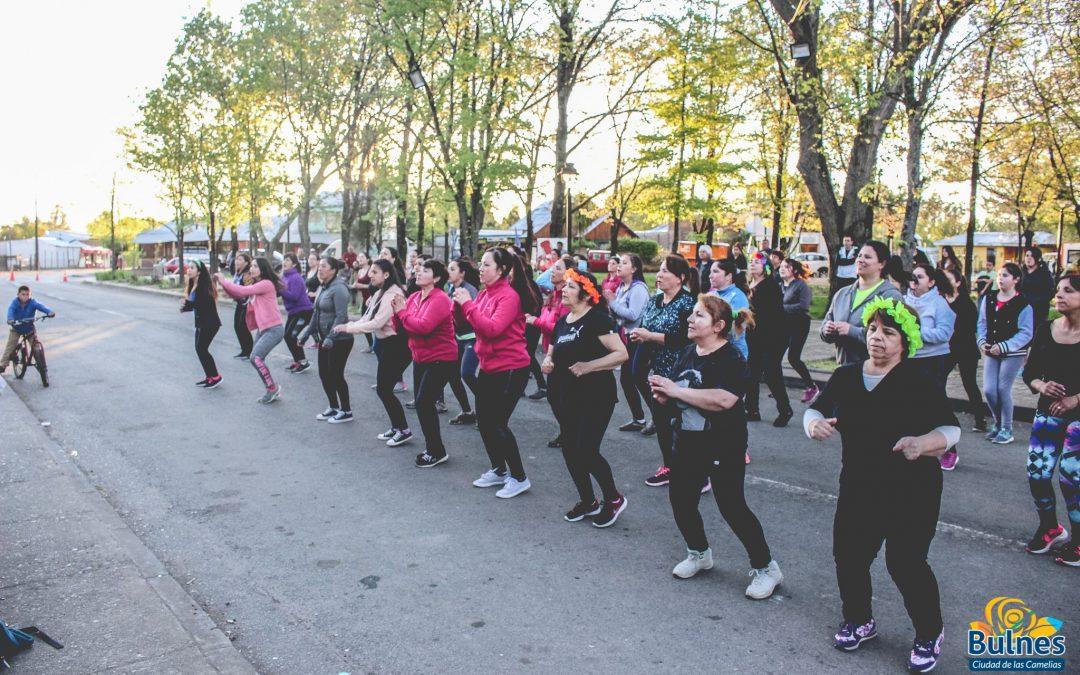 Baile entretenido organizado por el municipio se realizó en la comunidad de Santa Clara