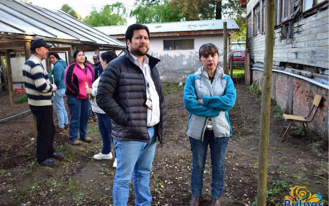 Darán nueva vida a escuela rural de Bulnes que será activa sede vecinal