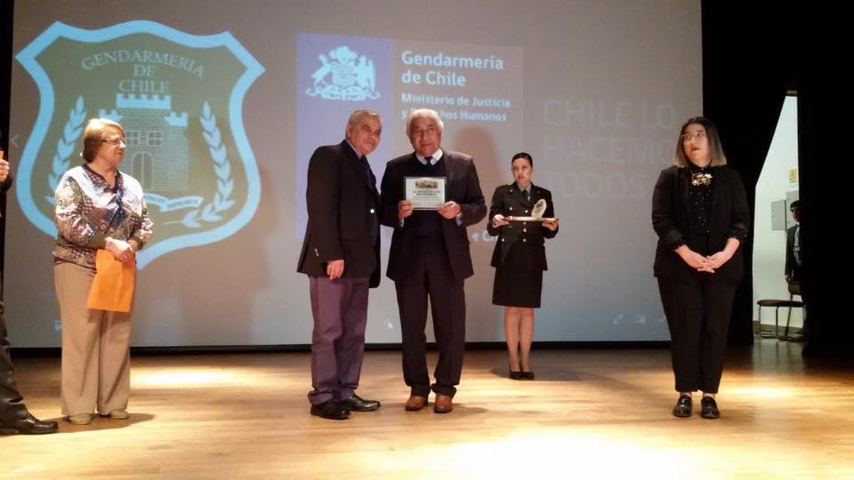 Reconocimiento del Cosoc Regional Biobio de Gendarmeria