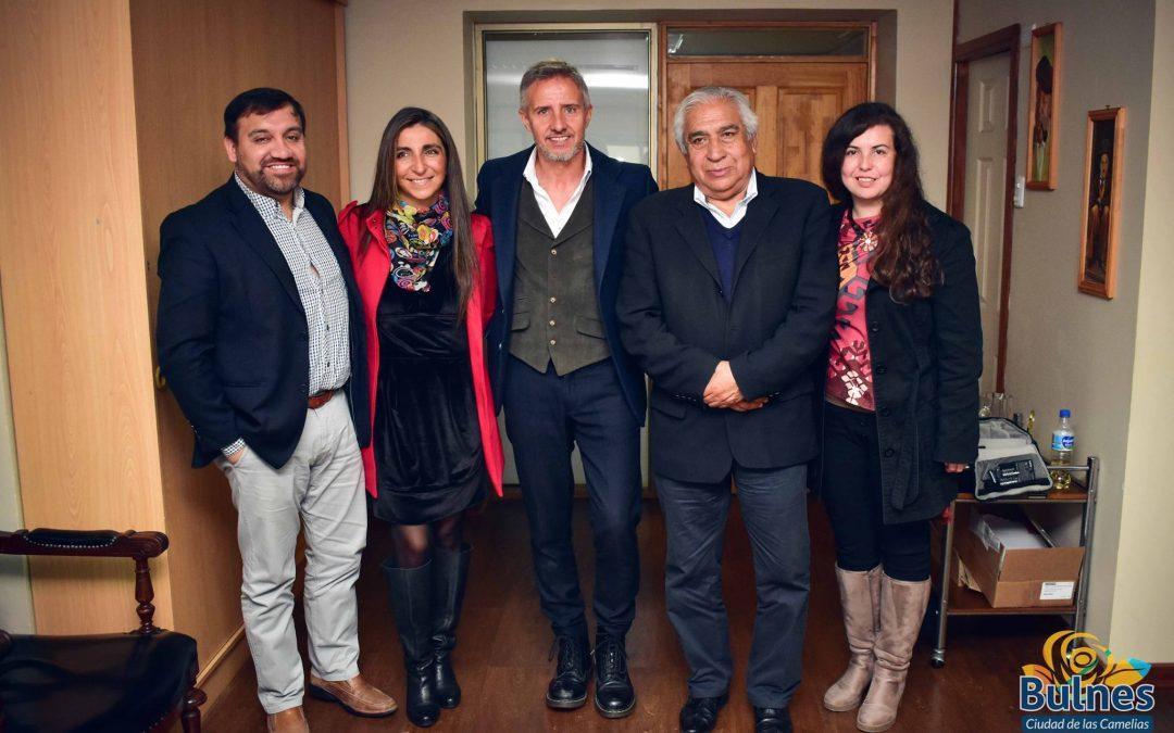 Horacio de la Peña dictó charla motivacional a reos de Bulnes