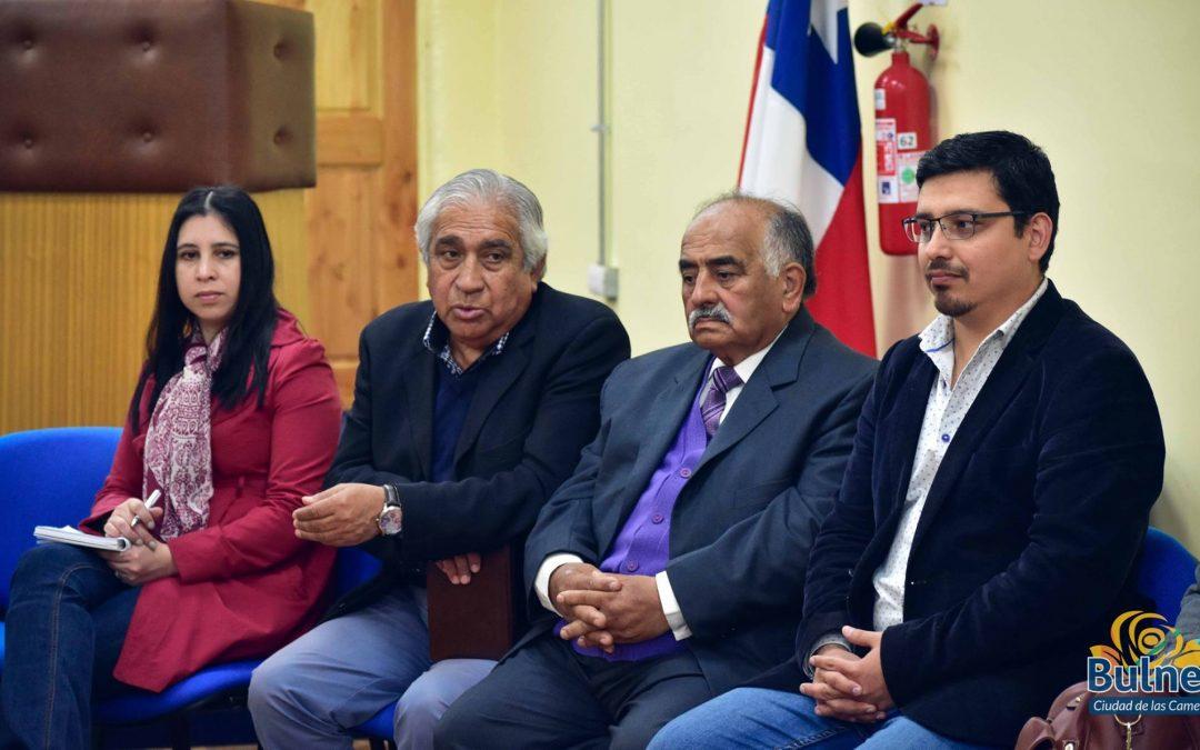 Provechosa visita de asesores del Ministro de Salud a Bulnes