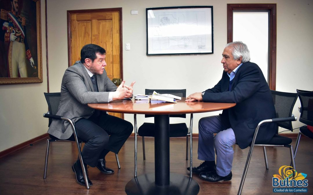 Alcalde de Bulnes recibió al nuevo contralor regional de Ñuble