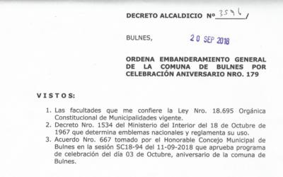Decreto Alcaldicio