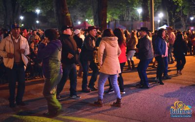 Masiva asistencia a fiesta ciudadana de cierre del Aniversario de Bulnes.