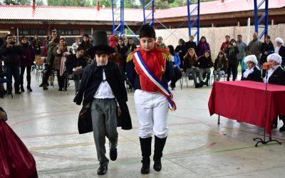 Bulnes conmemoró 205 años de la Batalla Paso El Roble