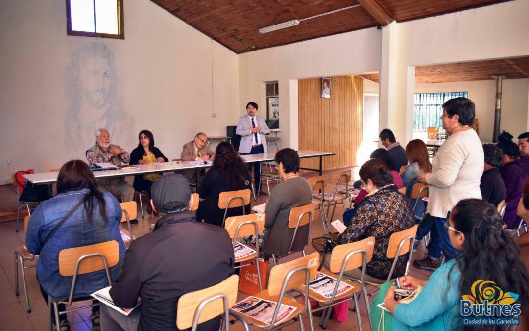 Dirigentes de organizaciones comunitarias acceden a valiosa capacitación