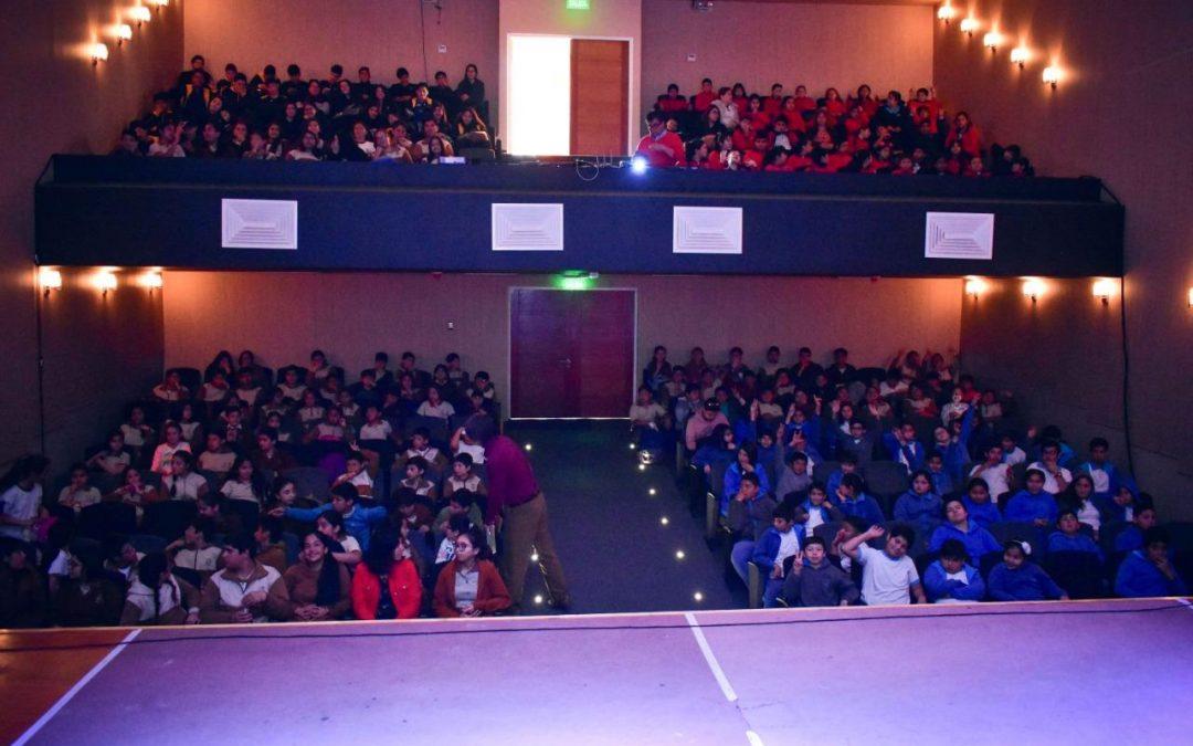 Película Mi mundial se estrenó en Bulnes para niñas y niños de la Capital de Diguillín