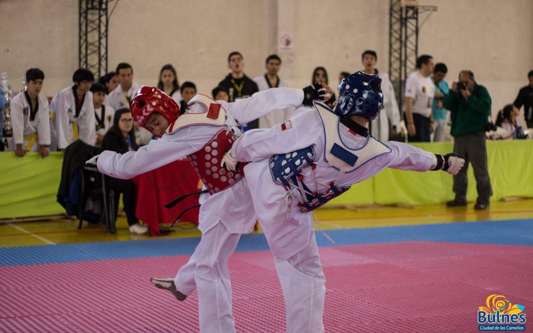 Medio millar de taekwondistas transforman a Bulnes en capital de esta disciplina