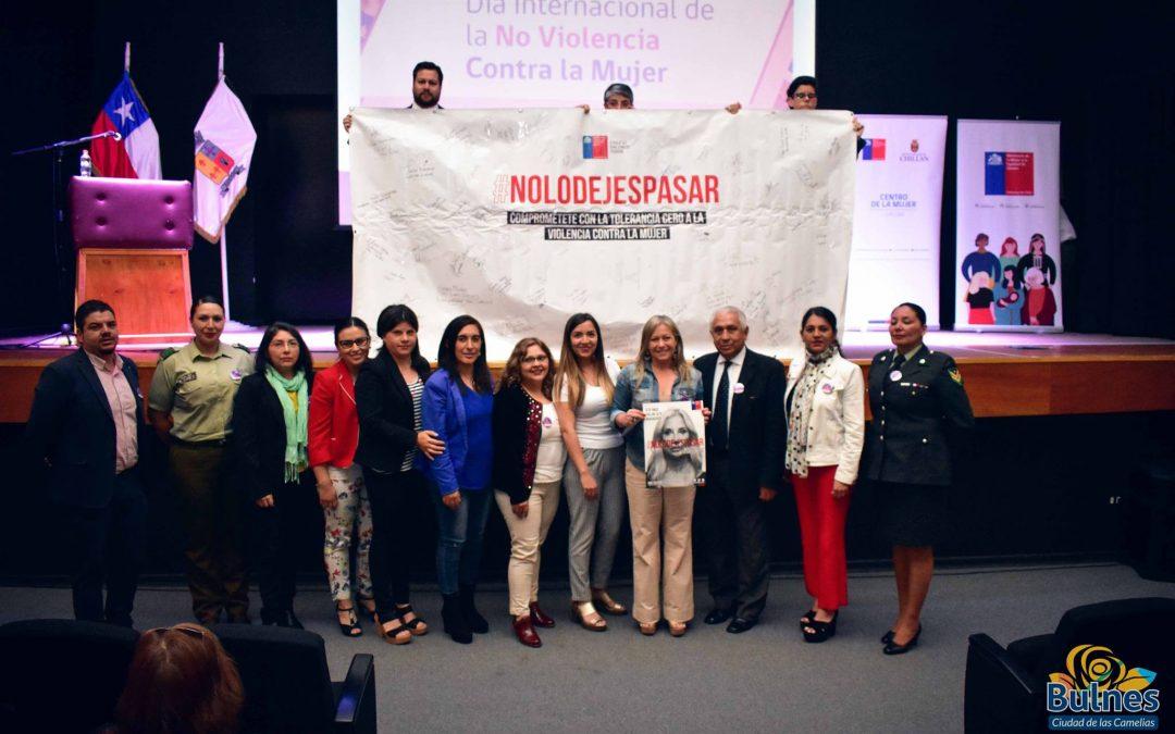 Promueven nueva relación entre hombres y mujeres en Bulnes