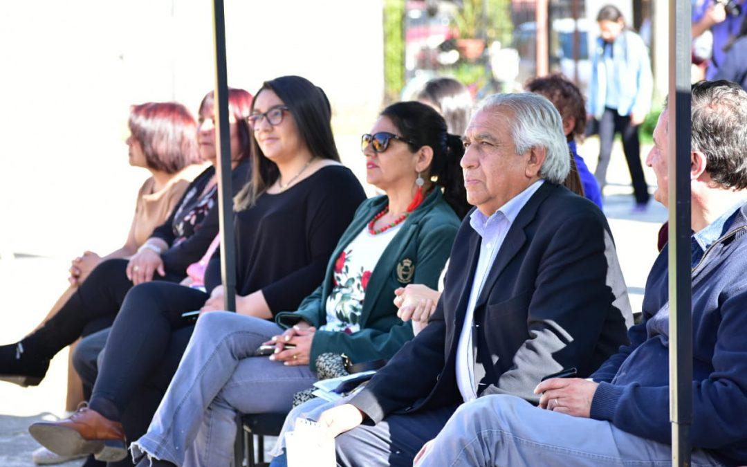 Formalizan inicio del Programa Quiero Mi Barrio en las villas Matías Madariaga de Bulnes
