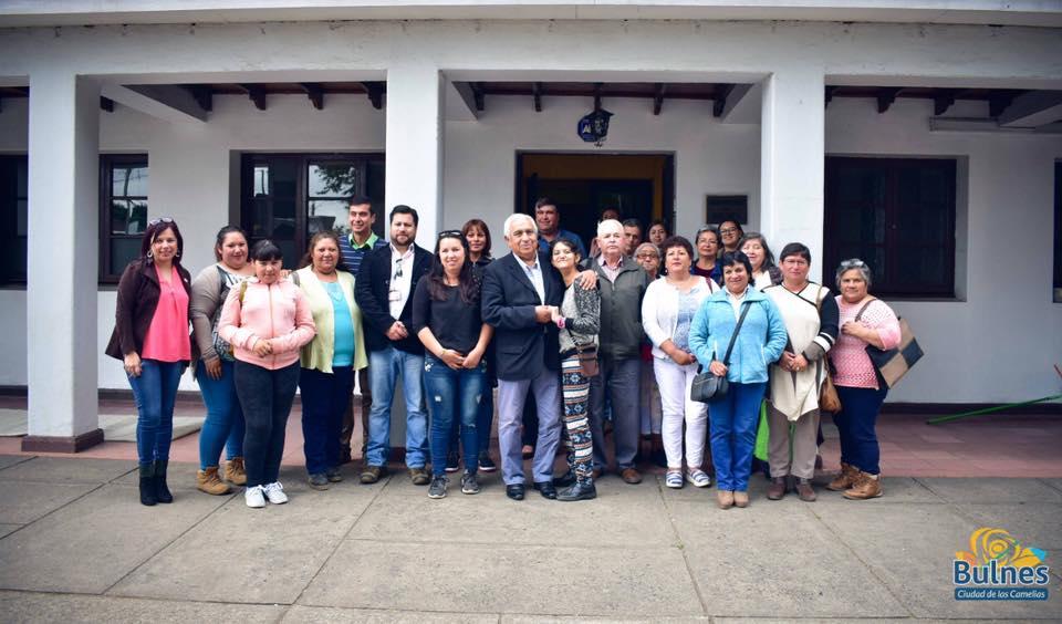 10 millones de pesos entregan a siete organizaciones sociales de la comuna de Bulnes
