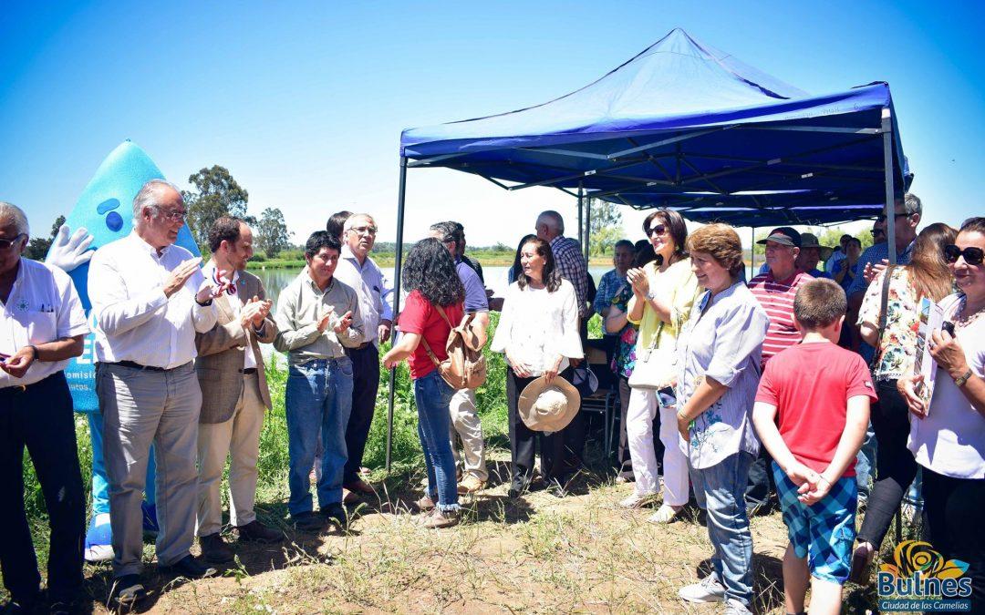 Inaugurarán enorme acumulador de agua en el sector El Nogal
