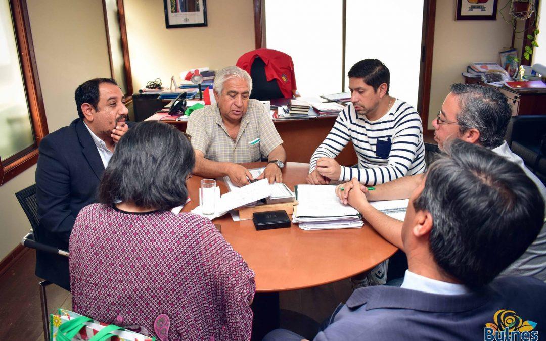 Alcalde promueve potenciar la educación en la Capital de Diguillín