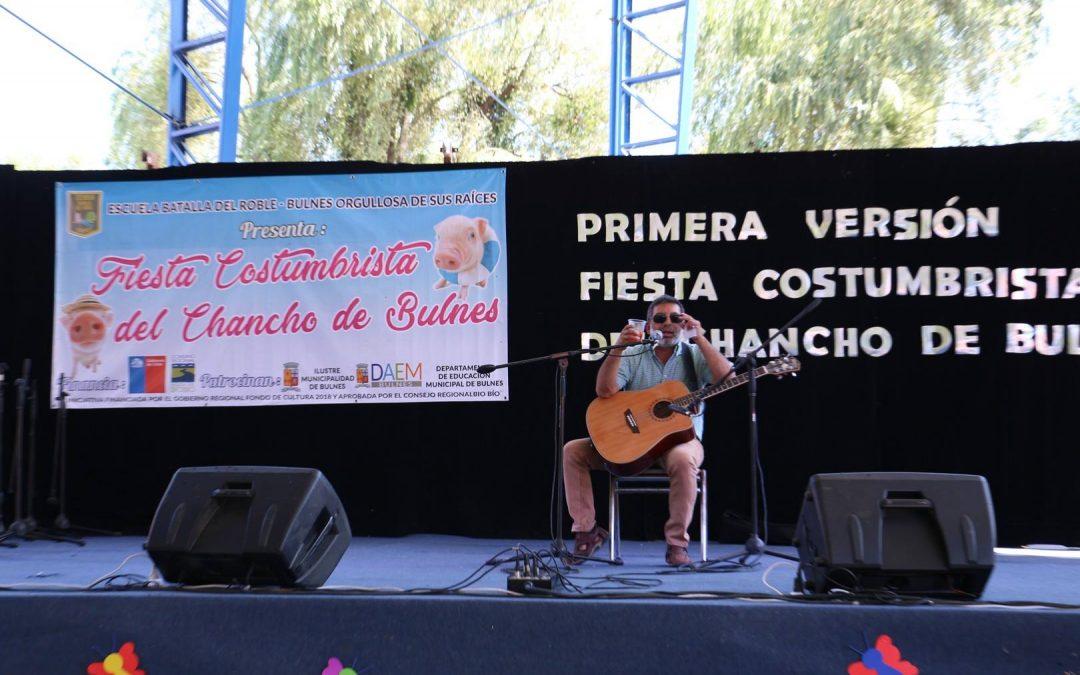 Fiesta Costumbrista del Chancho en la Escuela Batalla Del Roble