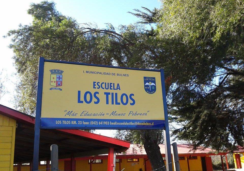 Agencia Nacional de la Educación destacó a escuela rural de Los Tilos en Bulnes
