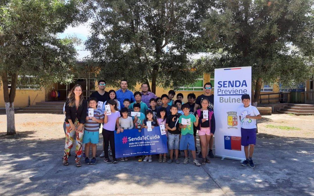 Oficina SENDA Previene Bulnes realiza difusión y sensibilización