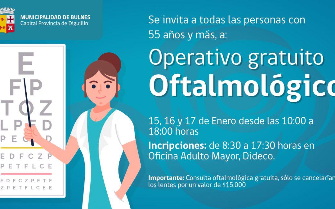 Municipio de Bulnes y Caja 18 de Septiembre abren plan oftalmológico para la comunidad local