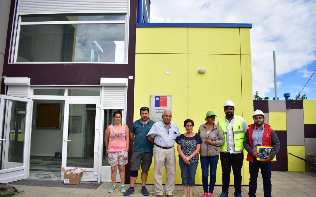 Afinan detalles para concluir faenas de dos grandes jardines infantiles en Bulnes
