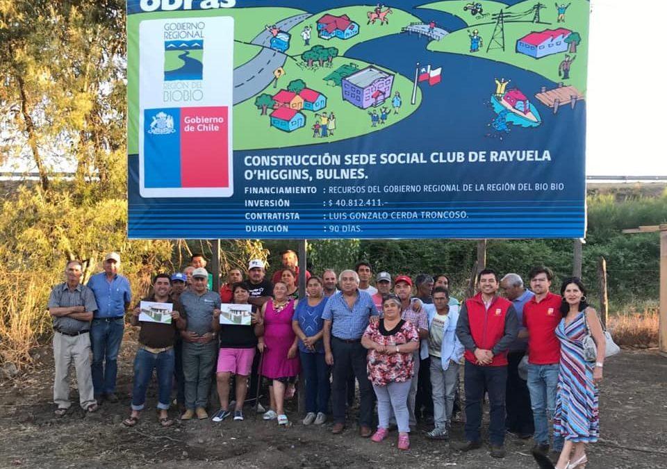 """Comienzan obras de sede y Club de Rayuela en la Población O""""Higgins"""
