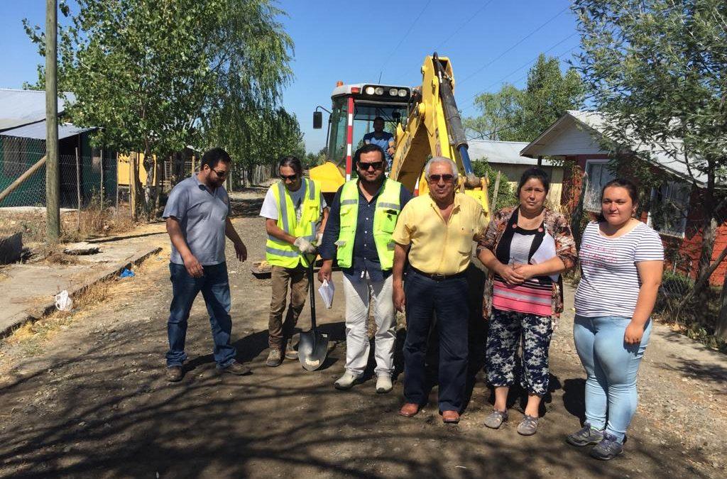 Municipio concluye estudios clave para asfaltar seis sectores rurales de Bulnes