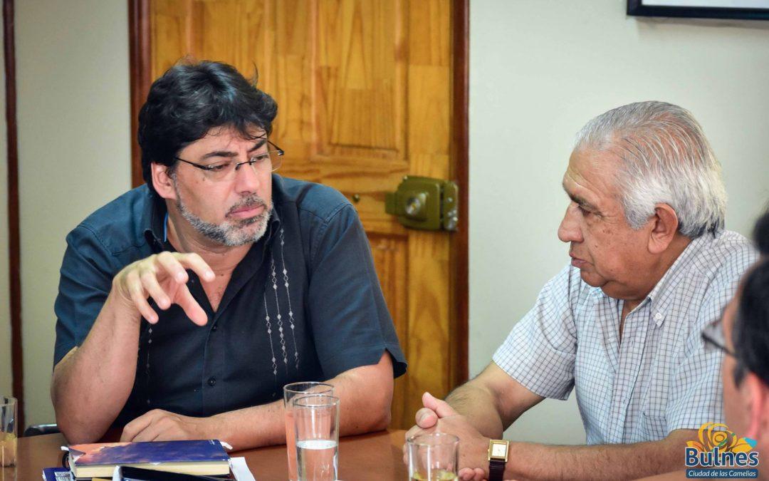 Alcalde de Recoleta sugiere farmacia móvil para las comunas del Diguillín y Bulnes avanza con proyecto de Farmacia Popular