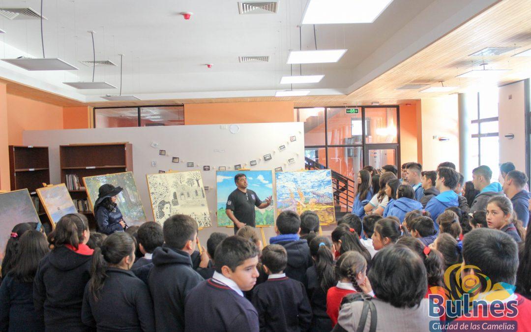Un fascinante viaje a la historia de Lota en la Biblioteca Municipal de Bulnes