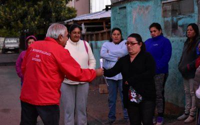 Vecinos de Villa Fresia se reúnen con alcalde para conocer proyecto de sede social