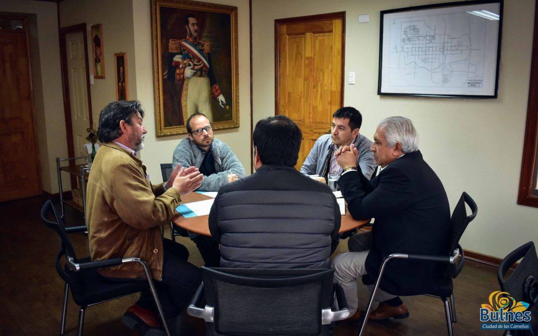 El municipio de Bulnes y la Universidad Católica de la Santísima Concepción buscan crear Gran Puerto Seco en la Capital del Diguillín.