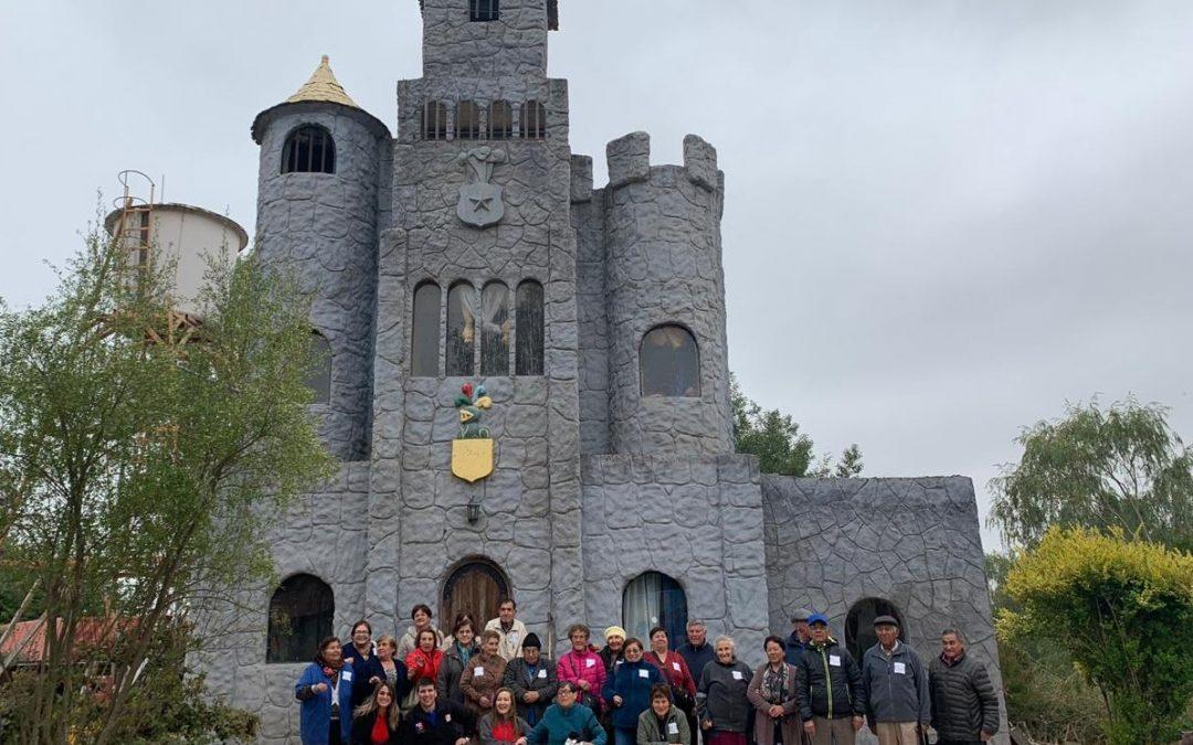 Programa reúne en Bulnes a adultos mayores de la Capital de Diguillín y Ránquil