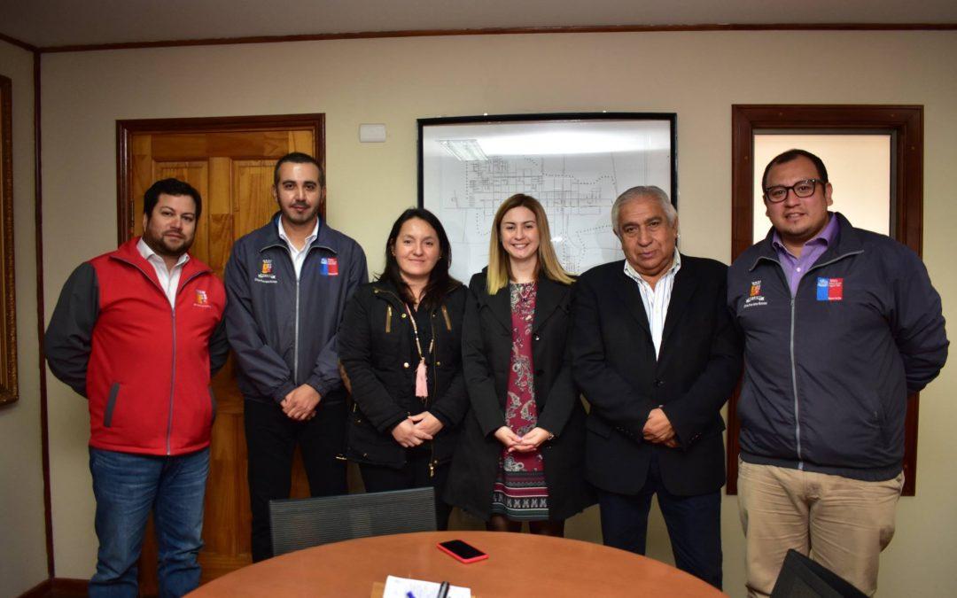 Directora Regional de SENDA Región de Ñuble Srta. Daniela Cisternas Sepúlveda se hizo presente hoy en nuestro municipio