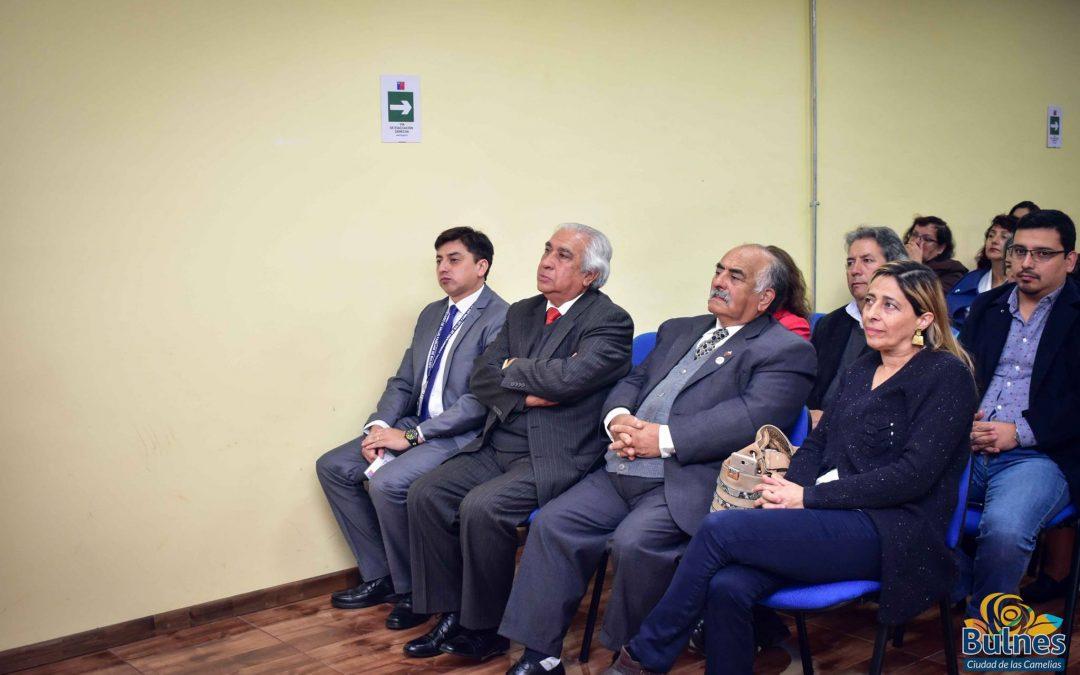 Alcalde asistió a cuenta pública del hospital Base de Bulnes