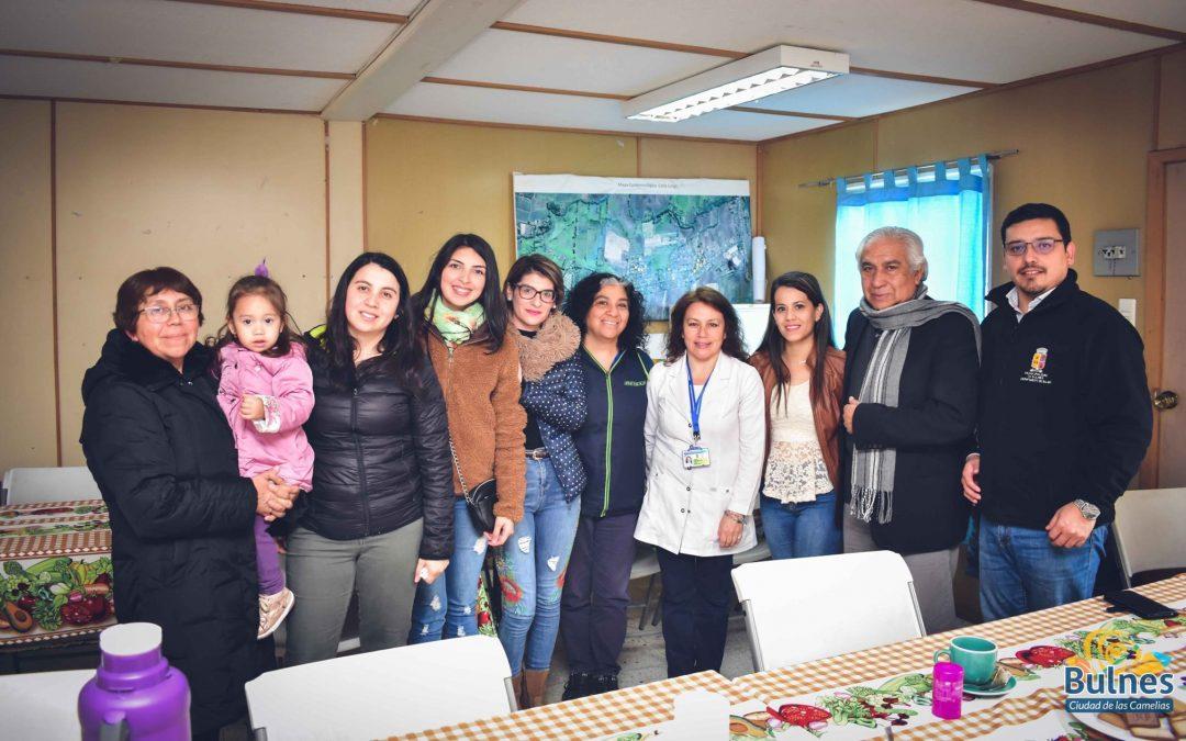 Municipalidad de Bulnes compromete apoyo para el CESFAM de Santa Clara
