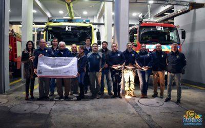 Alcalde entrega 15 millones de pesos en subvenciones Municipales a nuestros bomberos de Bulnes