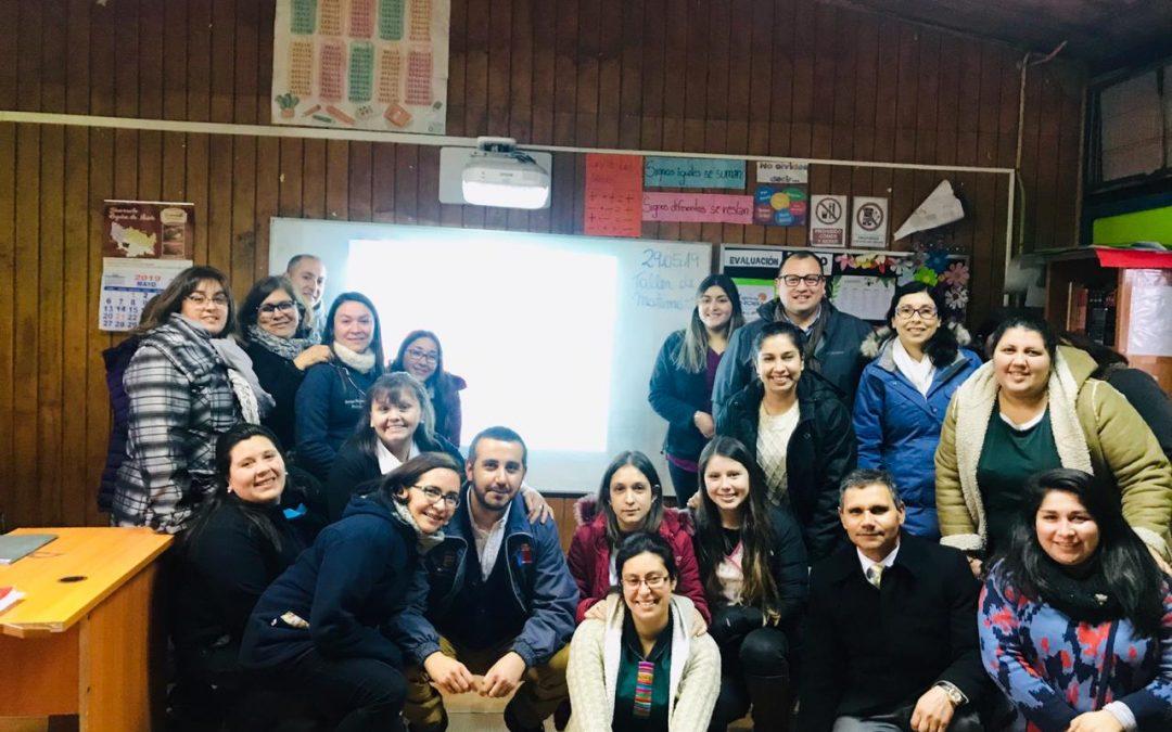 """Docentes y equipo directivo de la Escuela El Pal Pal de Santa Clara, secapacitan en el material """"Continuo Preventivo"""""""