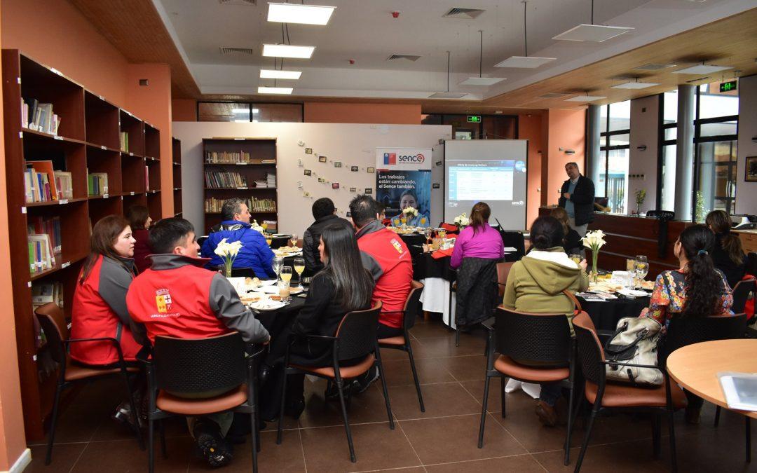 Jefes de deporte comunales de Ñuble se reunieron en la capital de Diguillín