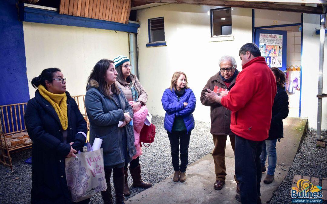 Municipalidad de Bulnes comprometió reparaciones en la escuela de Pueblo Seco en Santa Clara