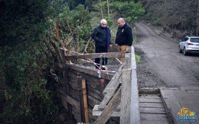 Reponen puente clave entre Bulnes y Chillán Viejo