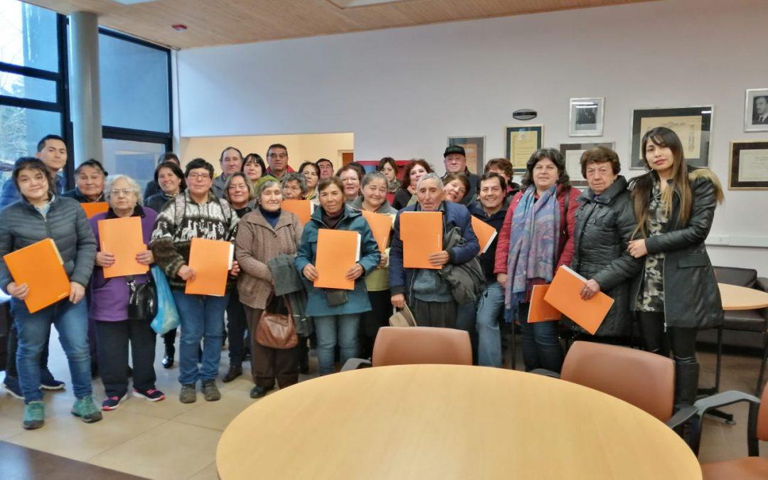 Exitoso cierre de proyecto de Ampliaciones de viviendas de familias de sectores rurales y urbanos de la comuna de Bulnes