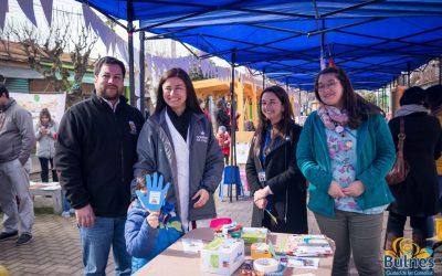 Administrador municipal de Bulnes participó en importantes actividades en el Paseo Peatonal