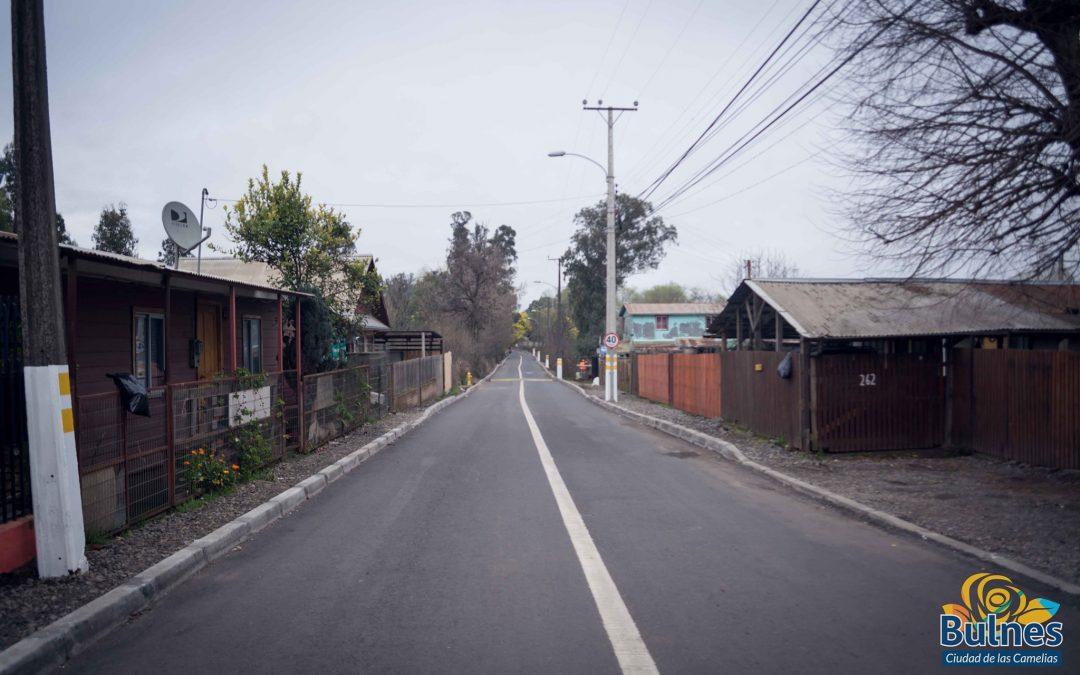 Destacan avances de la avenida Campo de Deportes tras pavimentación