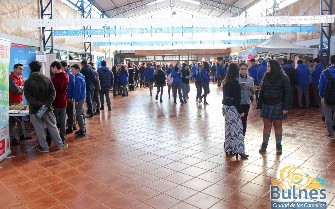 En Colegio San Esteban con apoyo municipal, celebran 77 de la Educación Técnica en Chile