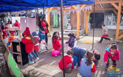 """OPD Valle del Sol celebra el mes de los niños y niñas con segunda feria """"expo-derechos en la comuna de Bulnes"""""""