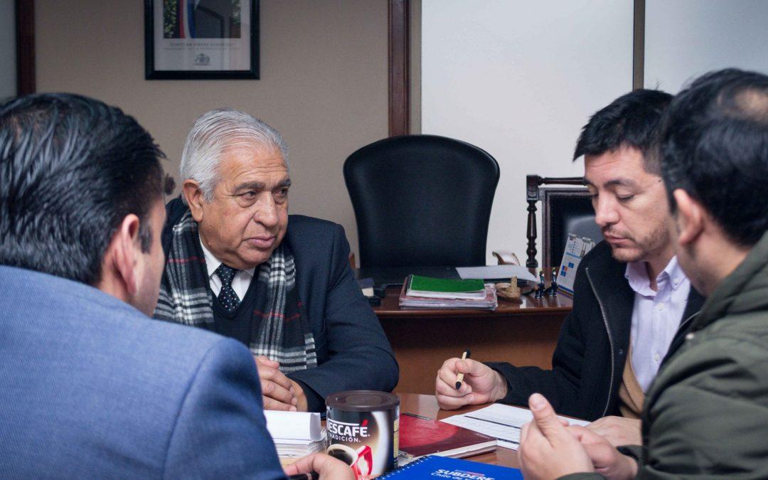 Subdere y municipio analizan el cambio de luminarias en Bulnes, Santa Clara y Tres Esquinas