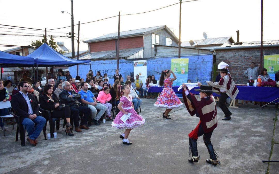 """""""Quiero mi Barrio"""" inició con masivo encuentro del 18 de septiembre en las Matias Madariaga 2"""