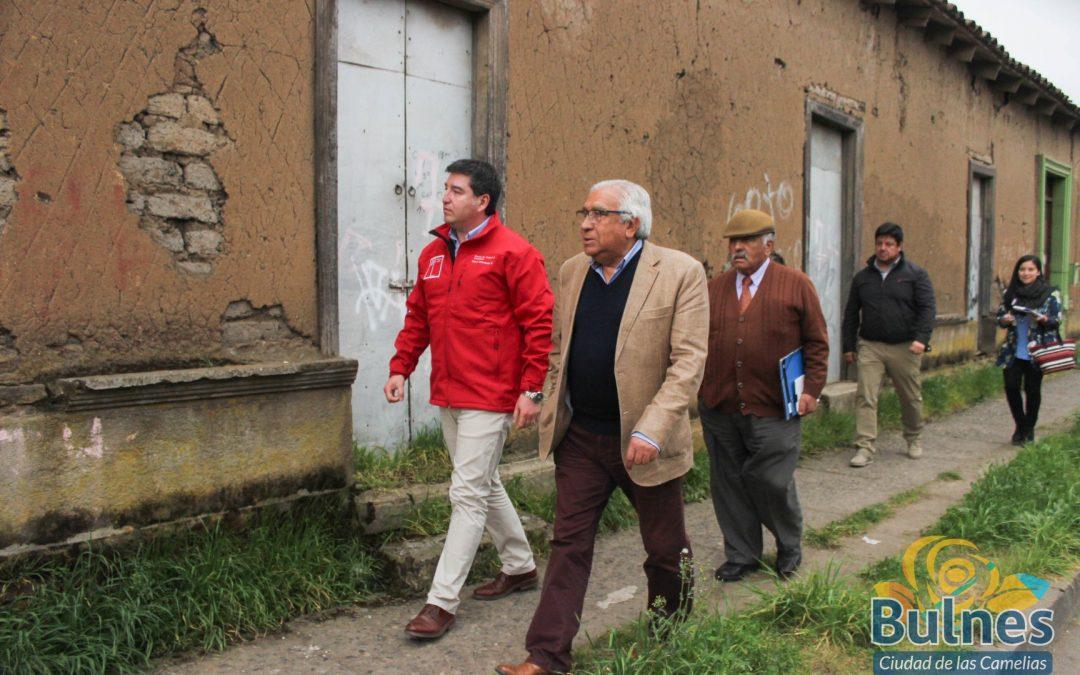 Municipio y el Minvu analizan planes para el desarrollo de la capital de Diguillín